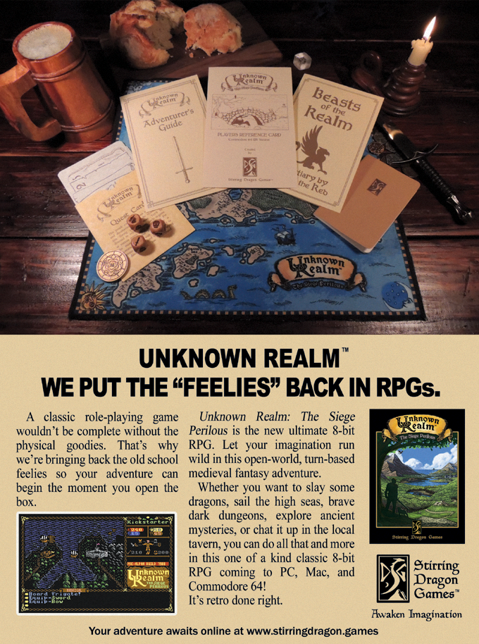 "Unknown Realm - We put the ""feelies"" back in RPGs!"